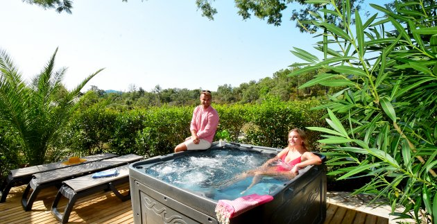 jacuzzi mobil home